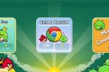 Angry Birds Chrome Dimension выбор эпизода