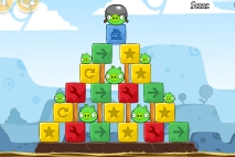 Angry Birds Chrome Dimension уровень 6