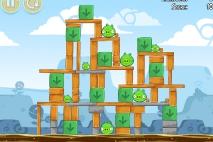 Angry Birds Chrome Dimension уровень 7