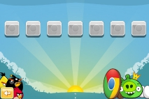 Angry Birds Chrome Dimension выбор уровеня
