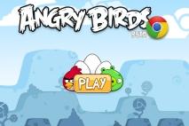 Angry Birds Chrome главное меню