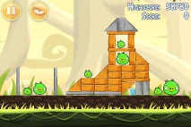 Angry Birds Danger Above уровень 6-1