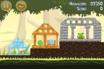 Angry Birds эпизод Danger Above уровень 6-10
