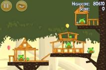 Angry Birds эпизод Danger Above уровень 6-13