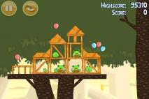 Angry Birds эпизод Danger Above уровень 6-14