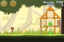 Angry Birds эпизод Danger Above уровень 6-2