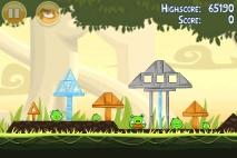 Angry Birds эпизод Danger Above уровень 6-3