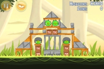 Angry Birds эпизод Danger Above уровень 6-4