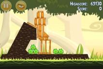 Angry Birds эпизод Danger Above уровень 6-5