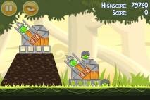 Angry Birds эпизод Danger Above уровень 6-6