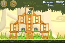 Angry Birds эпизод Danger Above уровень 6-7