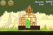 Angry Birds эпизод Danger Above уровень 6-9