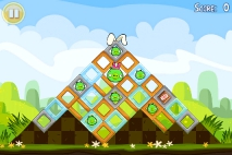 Angry Birds Seasons Easter Eggs уровень 1