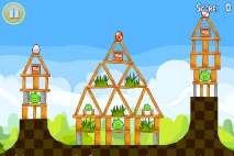 Angry Birds Seasons Easter Eggs уровень 10