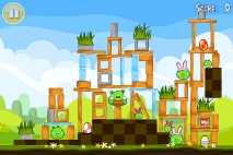 Angry Birds Seasons Easter Eggs уровень 11