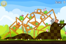 Angry Birds Seasons Easter Eggs уровень 12