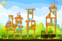 Angry Birds Seasons Easter Eggs уровень 13