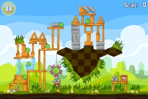 Angry Birds Seasons Easter Eggs уровень 14