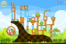 Angry Birds Seasons Easter Eggs уровень 2
