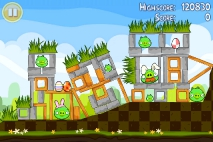 Angry Birds Seasons Easter Eggs уровень 3