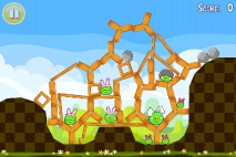 Angry Birds Seasons Easter Eggs уровень 4
