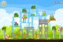 Angry Birds Seasons Easter Eggs уровень 5