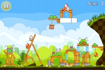 Angry Birds Seasons Easter Eggs уровень 6