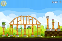 Angry Birds Seasons Easter Eggs уровень 7