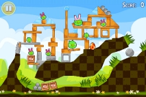 Angry Birds Seasons Easter Eggs уровень 8