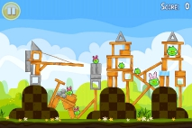 Angry Birds Seasons Easter Eggs уровень 9