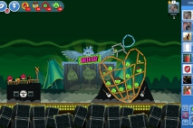 Angry Birds Friends Green Day Уровень 1