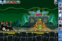 Angry Birds Friends Green Day Уровень 2