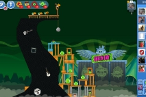 Angry Birds Friends Green Day Уровень 3
