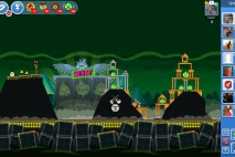 Angry Birds Friends Green Day Уровень 4