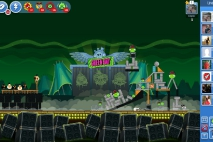 Angry Birds Friends Green Day Уровень 5