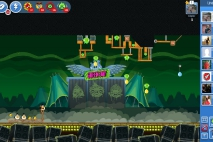 Angry Birds Friends Green Day Уровень 6