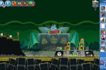 Angry Birds Friends Green Day Уровень 7