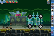 Angry Birds Friends Green Day Уровень 8