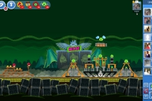 Angry Birds Friends Green Day Уровень 9