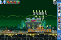 Angry Birds Friends Green Day Уровень Золотая Граната
