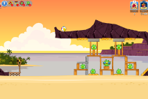 Angry Birds Friends Pigini Beach уровень 6