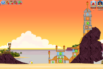 Angry Birds Friends Pigini Beach уровень 9