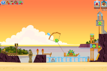 Angry Birds Friends Pigini Beach уровень 14