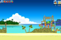 Angry Birds Friends Surf and Turf Уровень 5