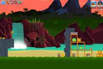 Angry Birds Friends Surf and Turf Уровень 18