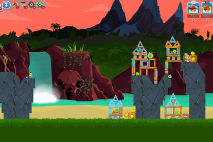 Angry Birds Friends Surf and Turf Уровень 21