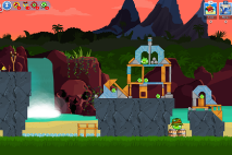 Angry Birds Friends Surf and Turf Уровень 23