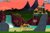 Angry Birds Friends Surf and Turf Уровень 24