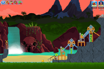 Angry Birds Friends Surf and Turf Уровень 27