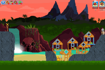 Angry Birds Friends Surf and Turf Уровень 28